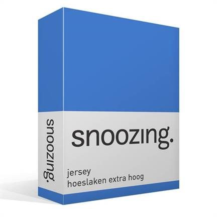Snoozing drap-housse en jersey grand bonnet