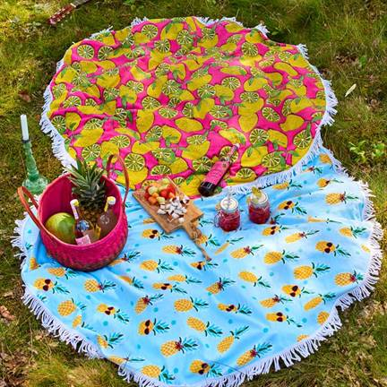 Covers & Co Pinapple drap de plage